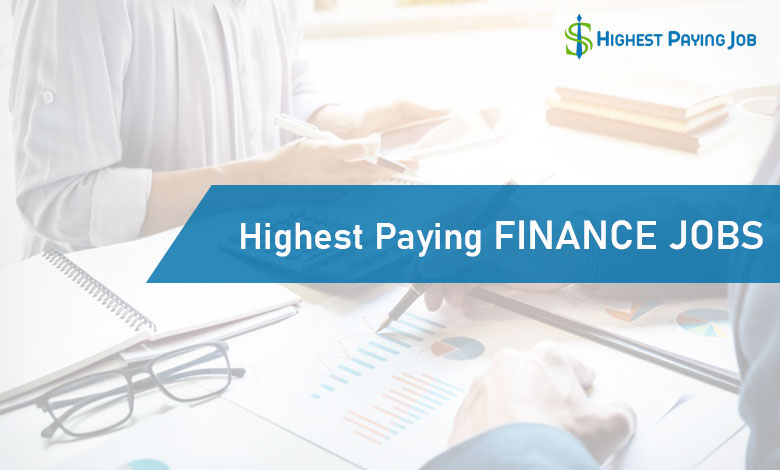 Highest Paying Finance Jobs