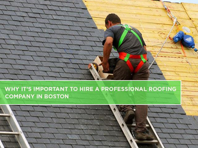 Why It's Important to Hire a Professional Roofing Company You Can Trust