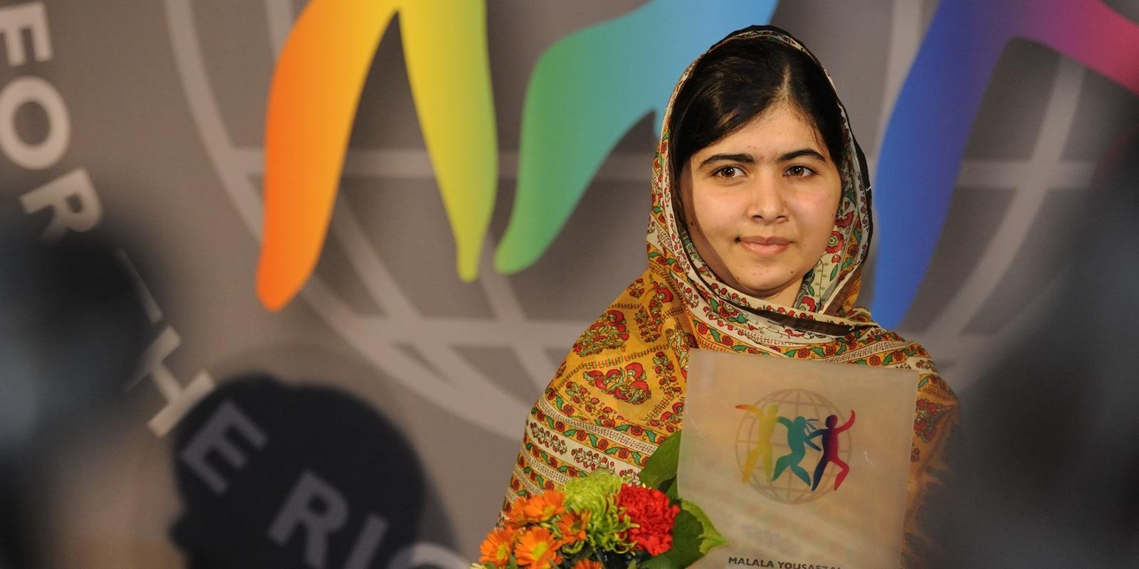 "Malala Yousafzai Narrates Her Story in ""We Are Displaced"""