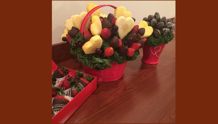 Berry Chocolate Love Bouquet