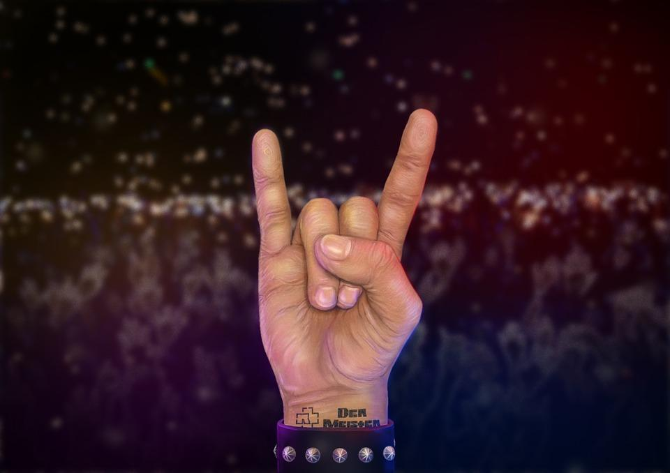 Hand, Rock, Hands, Concert, Metal, Figure, Rammstein