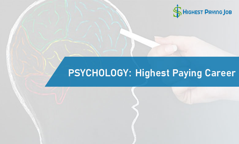 highest paying psychology jobs