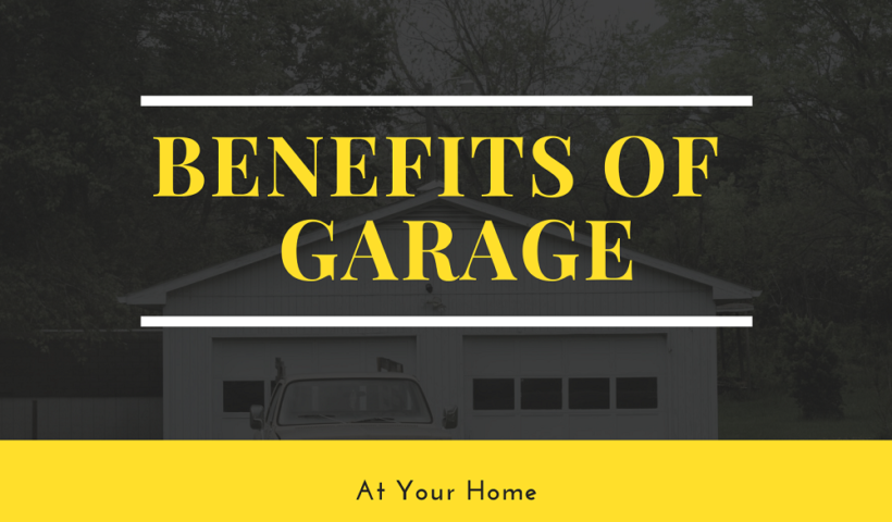 garage at your home