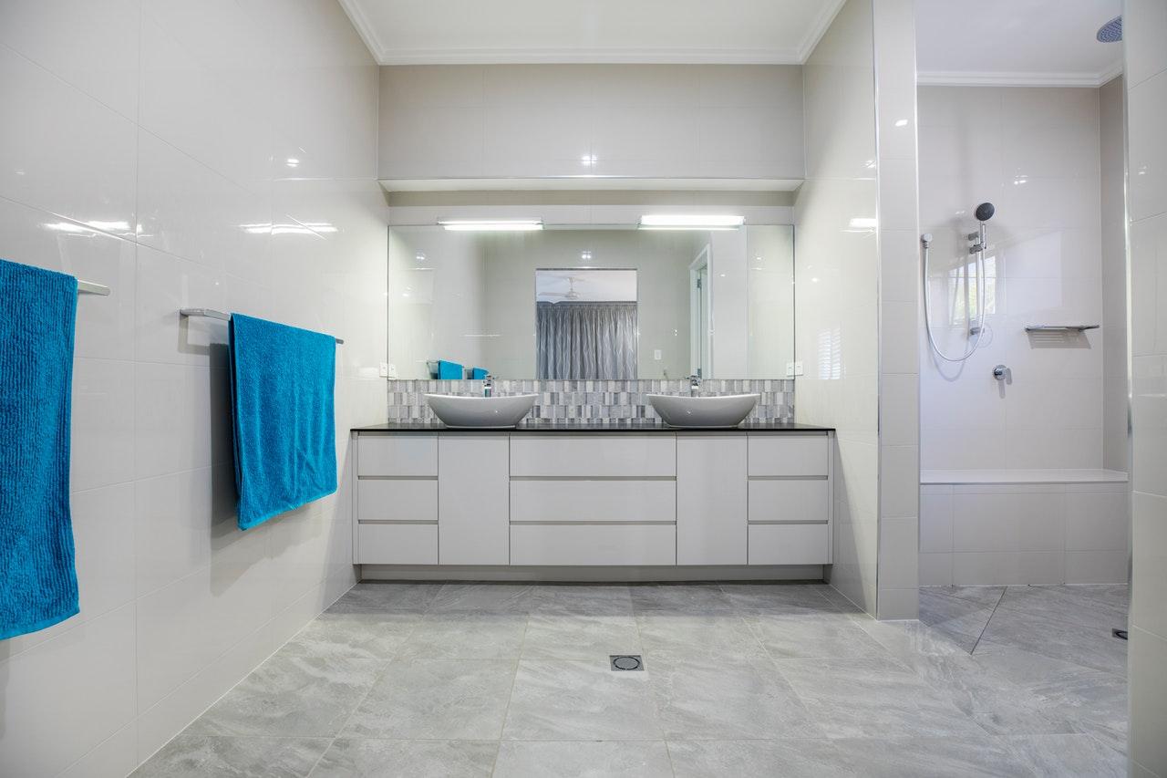 Bathroom bigger space